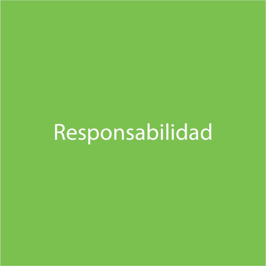 letra responsabilidad verde