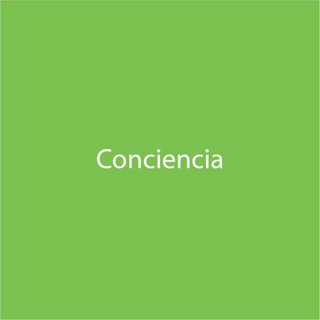letra conciencia verde
