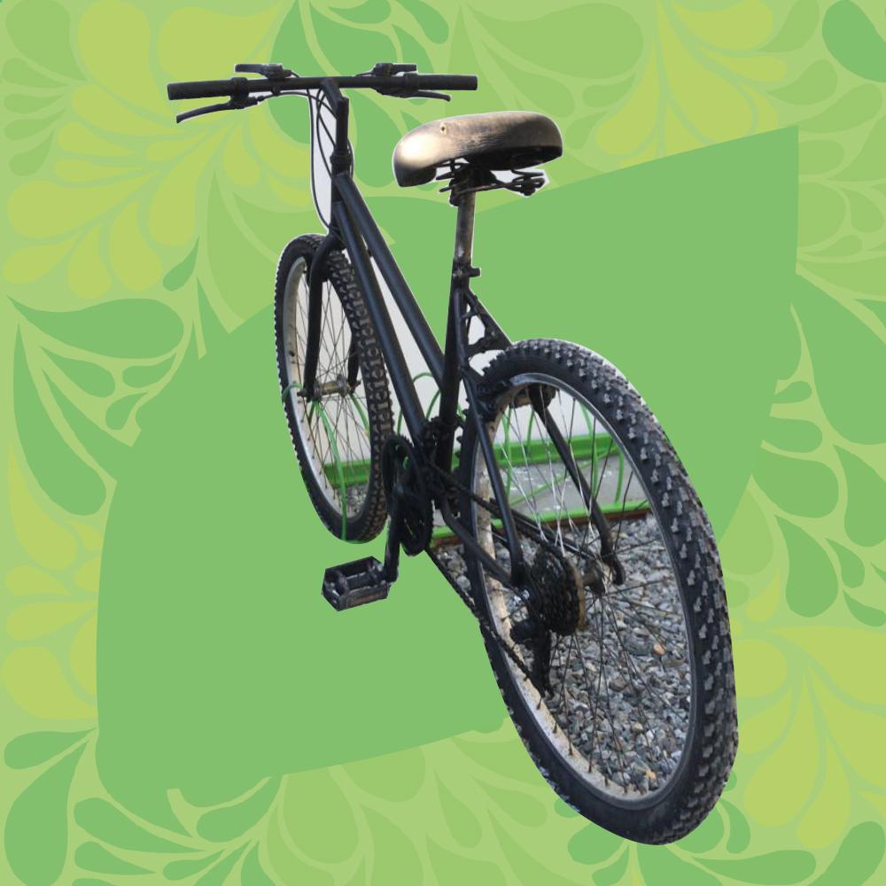 Foto de una bicicleta