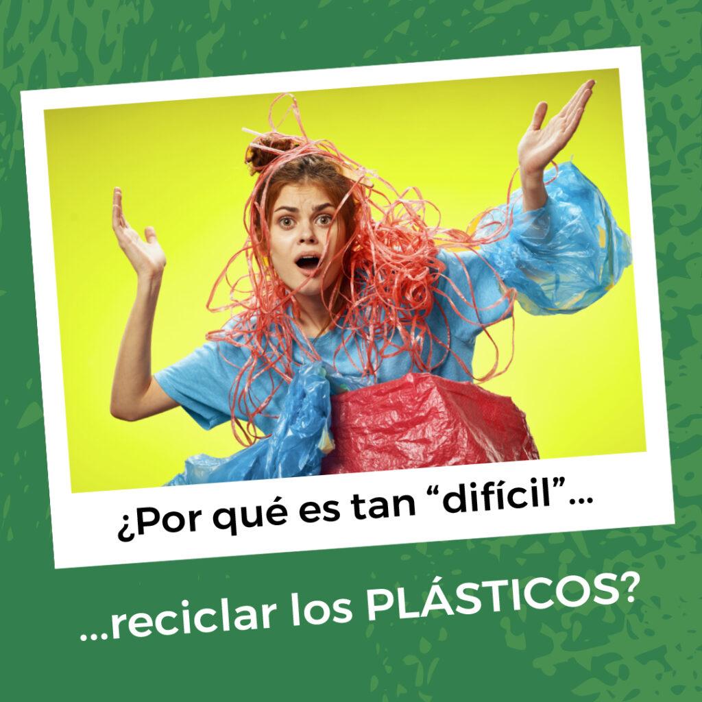 ¿Por qué es tan difícil reciclar plástico?