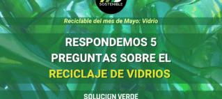 5 Datos sobre el reciclaje del vidrio