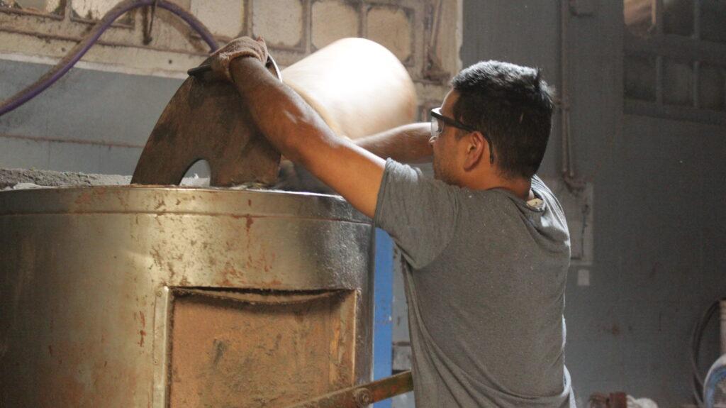 proceso de fabricación de madera plástica