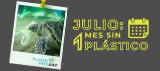 Julio sin plástico en Destino Sostenible