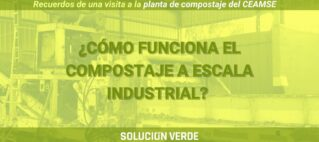compostaje a escala industrial - planta de compostaje